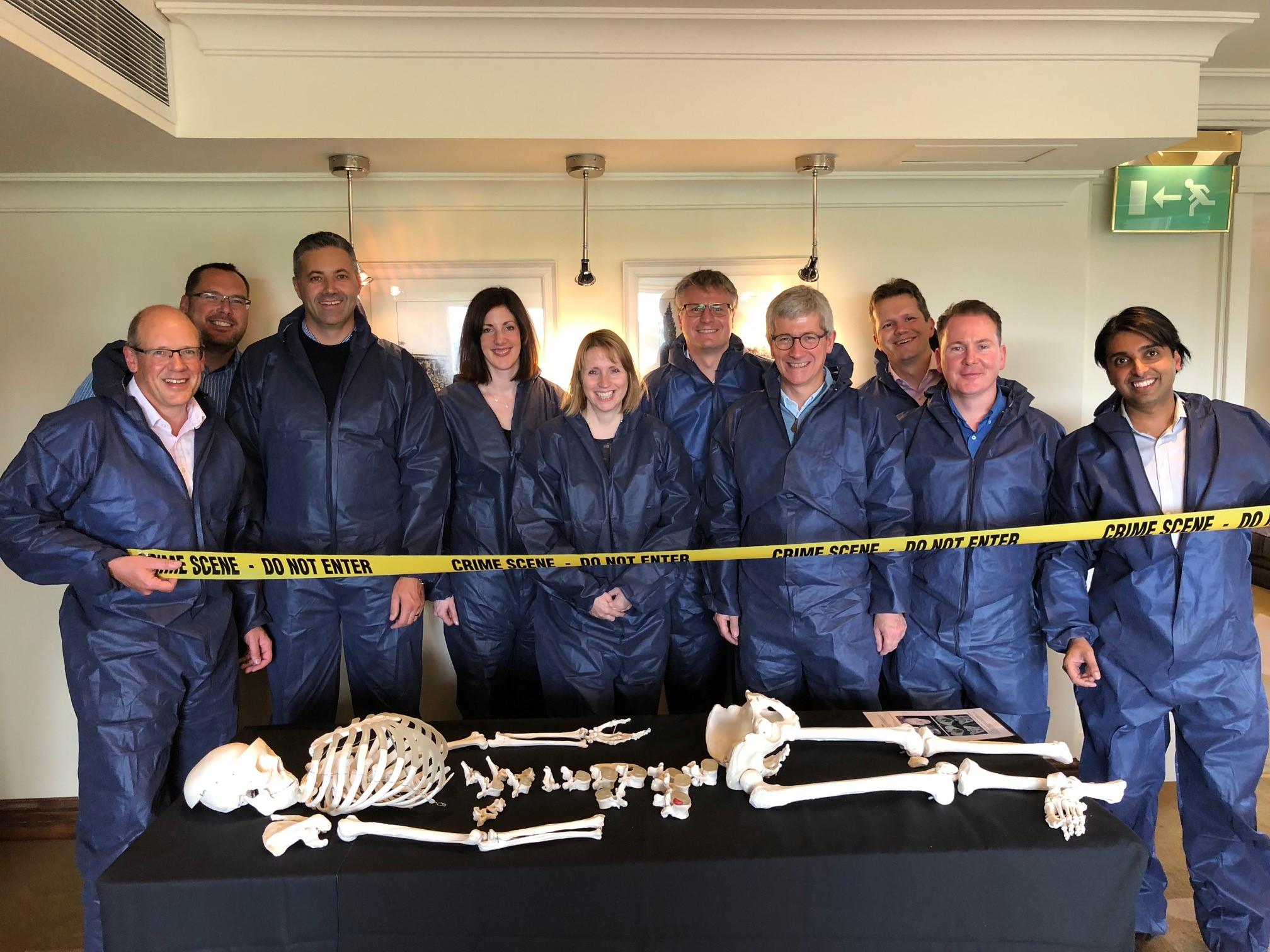 CSI Training and Events - PWC Team photo at a CSI Team building event