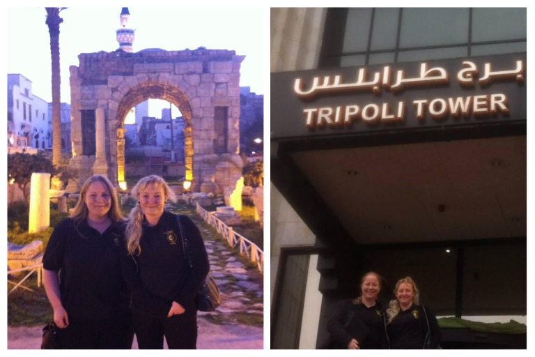 CSI Training and Events - Angela and Dionne in Libya
