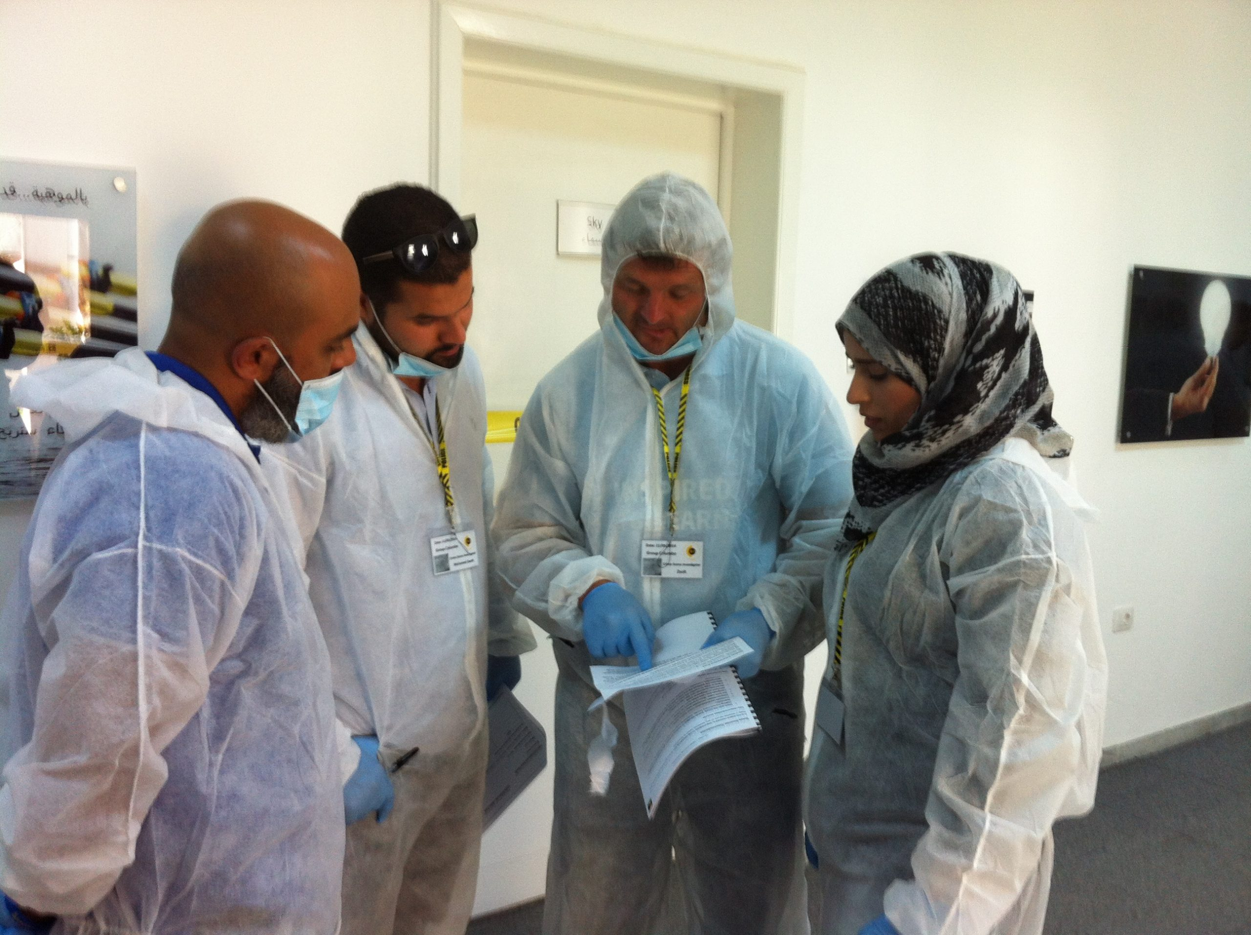 CSI Training and Events - Delegates at a CSI team building event in Libya