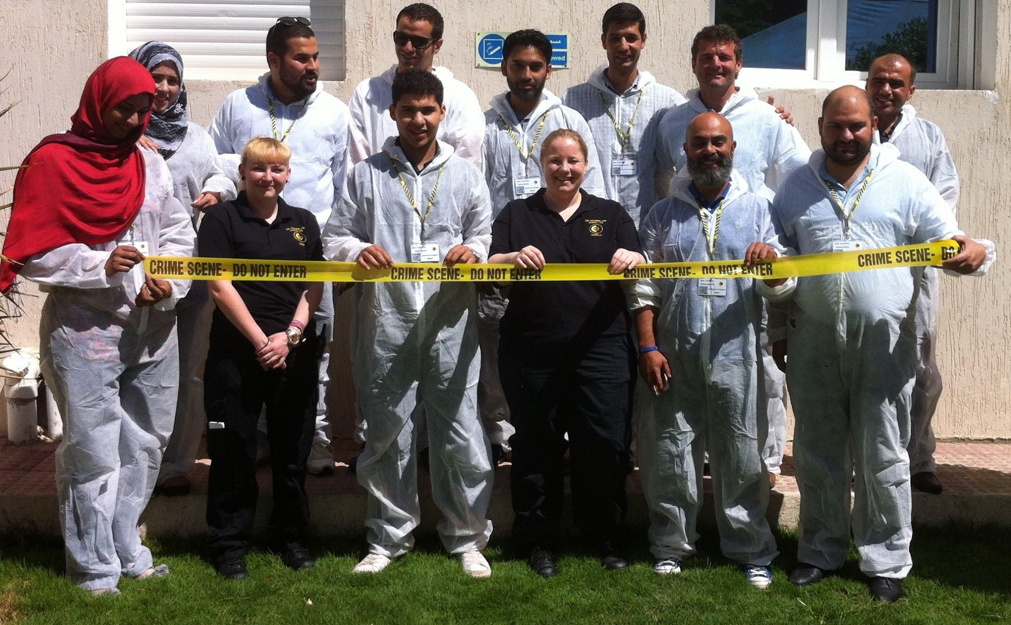 CSI Training and Events - team photo at a CSI Team building event in Libya
