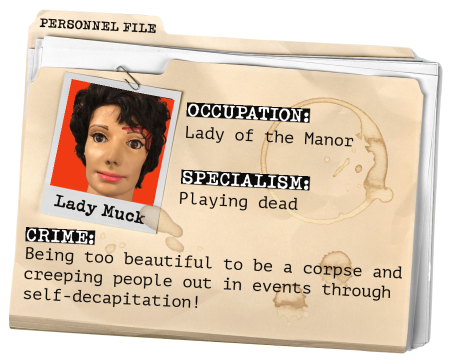 CSI Training and Events Ltd- Team member profile - lady muck our prop body