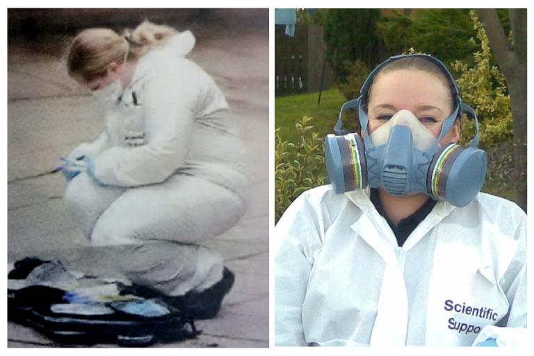 CSI Training and Events - Directors Angela and Dionne as Crime Scene Investigators