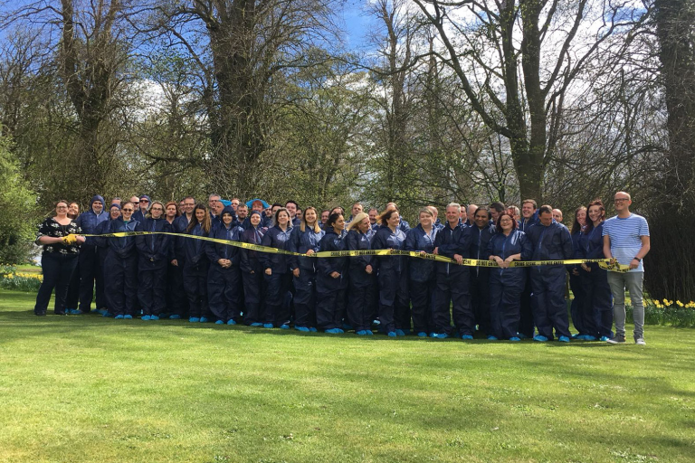 CSI Training and Events - team photo at a CSI Team building event